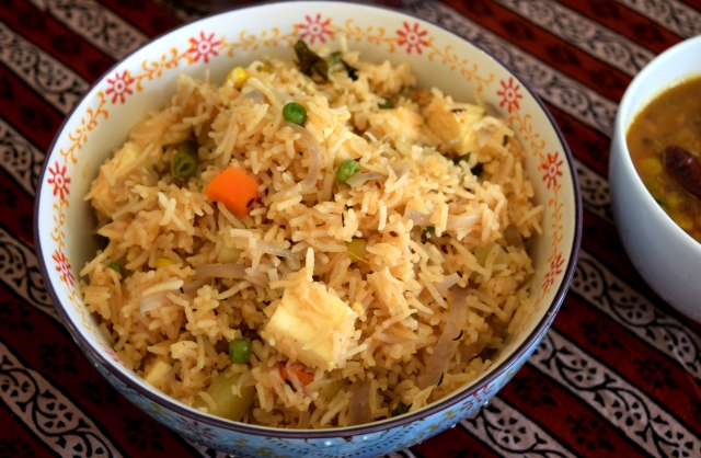 easy vegetable pulav