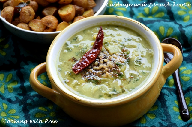 cabbage spinach kootu_wp