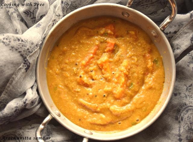 Arachuvitta sambar (2)