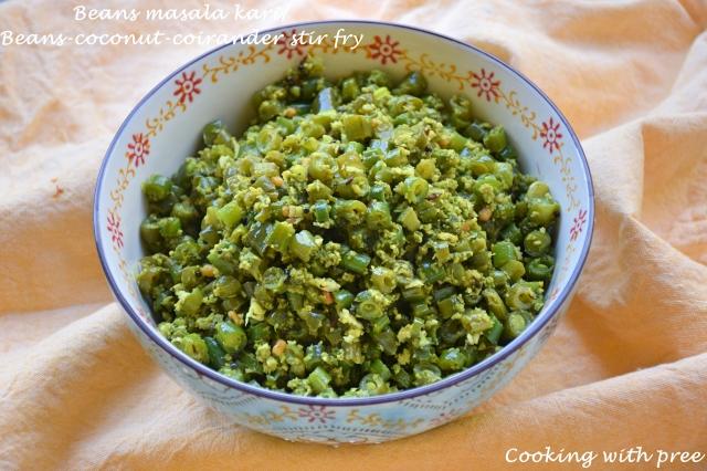 beans masala kari (instant pot version2)